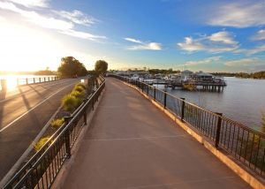 Doonella Lake Cycle Bridge Tewantin