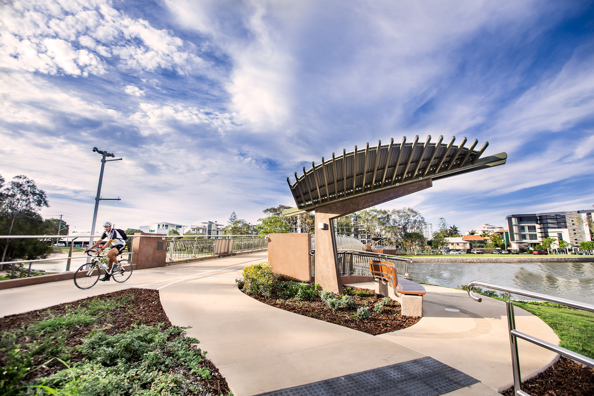 Mooloolaba Walk & Ride Bridge